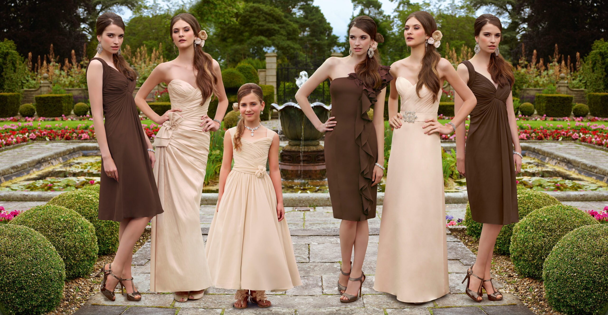 No stress with the bridesmaid's dresses!